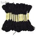 Черный крест Lychee Life, нитки для вышивания крестиком, аксессуары ручной работы для шитья