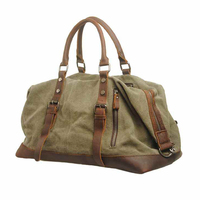 Exclusive High Quality Large Capability Men Travel Luggage Handbags Durable Canvas Messenger Shoulder Bag For Computer