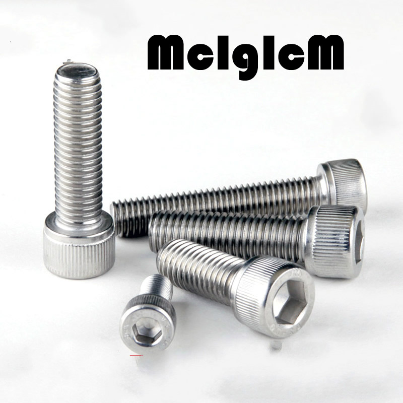 H062 M5 Bolt M5 Screw Stainless Steel Hex Socket Cap Screw 304 Stainless Allen Bolt DIN912