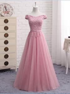 MNZ502L # платья подружек невесты на шнуровке короткое среднее длинное платье для выпускного вечера синяя фасоль паста цвет шампанского