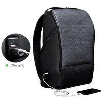 Kingsons мини рюкзак для мужчин Krion FlexPack 15 дюймов ноутбук Bagpack Duffle Lock зарядка через usb Back Pack для подростков обувь мальчиков дорожная сумка