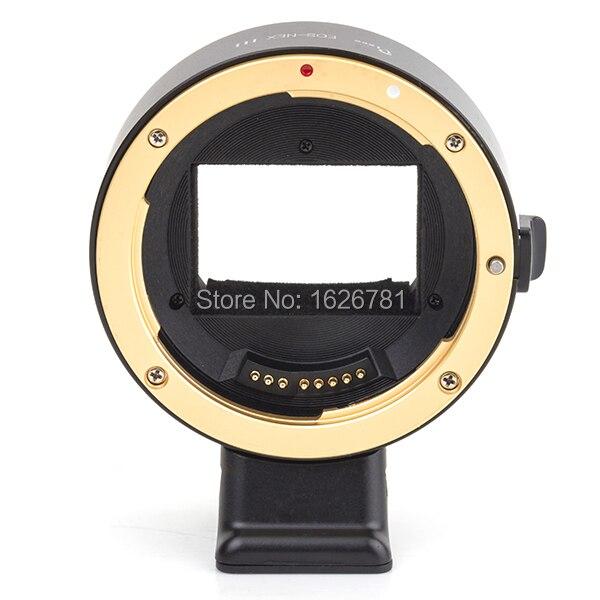 Pixco Третьего Поколения Электронных Полный Кадр Автоматический Focus AF Подтверждение Адаптер для Canon EF Крепление Объектива К Sony E Крепление NEX камера