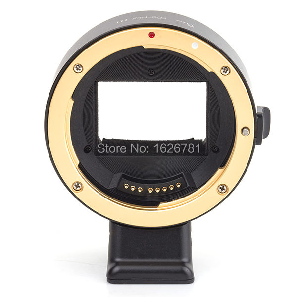 Pixco Third Generation Electronic Full-Frame Auto Focus AF Confirm Adapter For Canon EF Mount Lens To Sony E Mount NEX Camera wholesale price jmfoto electronic af auto focus lens adapter for canon eos ef ef s body to sony e nex a7 a7r lens full frame