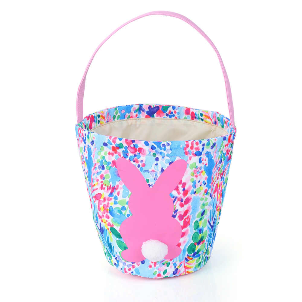 a6d505cc315dbf 10pcs/lot hot selling wholesale 2 colors lily inspired pulitzer easter  bucket fashion monogram kids
