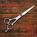 Профессиональный tesoura 6 дюймов волос резка ножницы 440C салон парикмахерских парикмахерская ножницы