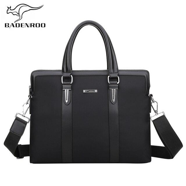 Badenroo Male bag Leather Handbags Oxford Men Messenger Bags Man Laptop  Bags Fashion Men s Briefcase Business Shoulder Bag Tote 76dab4b8e1