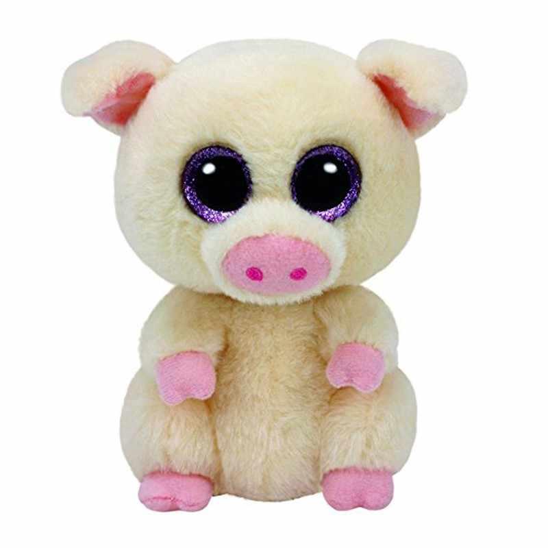 """Ty Beanie милая сова обезьяна плюшевая игрушка единорог Кукла Мягкие и плюшевые животные 6 """"15 см"""