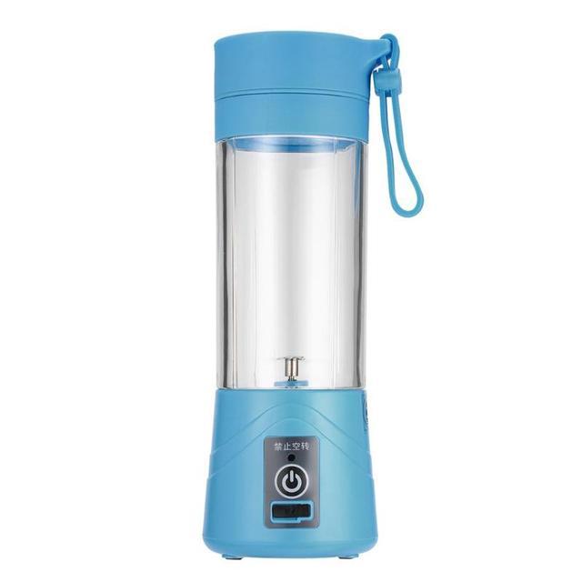 USB החדש 400 ml כוס מסחטה פירות ירקות בלנדר מיץ לסחוט חשמלי כוס 400 מל - משלוח חינם 4