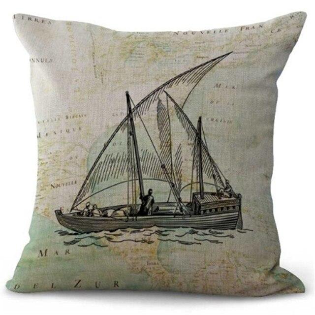 Gallon Ship Cushion Covers   1