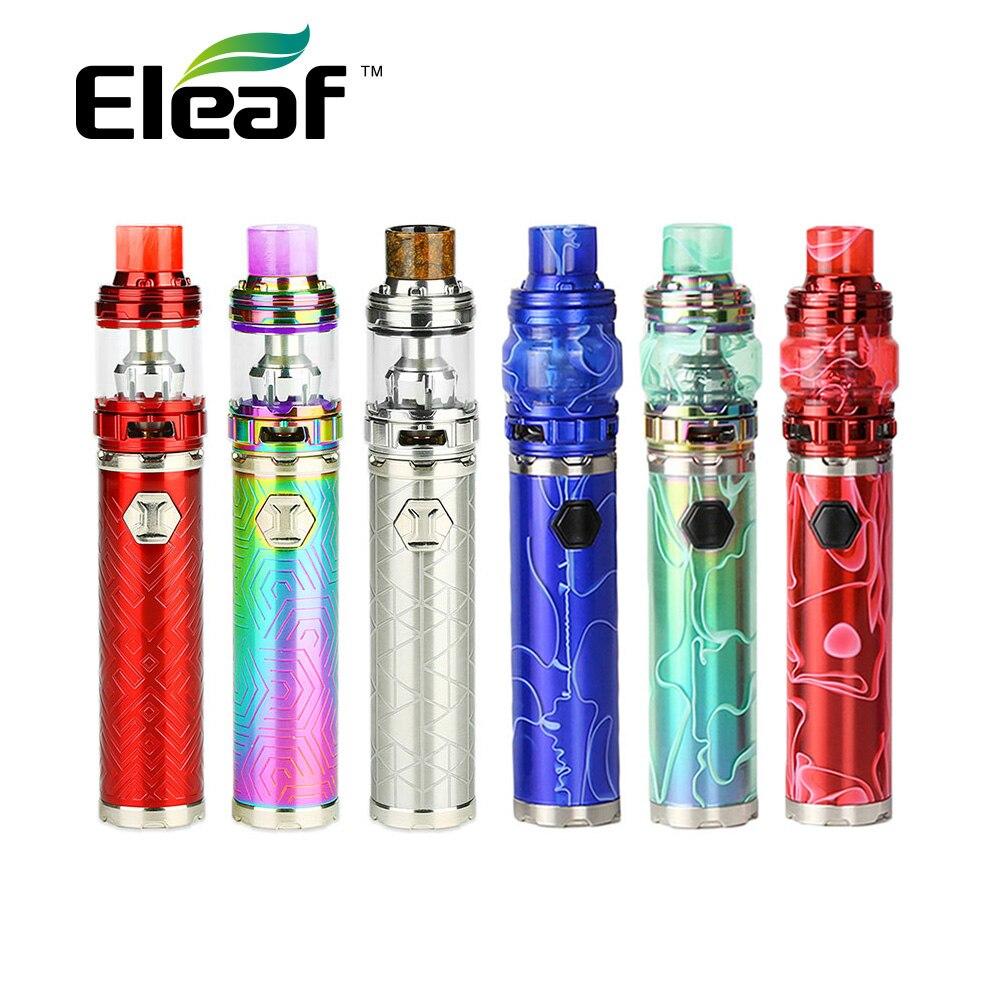 Новый оригинальный Eleaf IJust 3 Starter Kit 3000 мАч с Элло Дуро бак распылитель 2 мл/6,5 мл и все новые HW-M/HW-N голову E-сигареты VS Ijust S