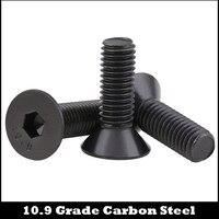 M2 M2 * 3/4/5/6/7/8, M2 * 3/4/5/6/7/8/10,9 Класс черная сталь DIN7991 плоские CSK винты с потайной головкой и внутренний шестигранный Шестигранная отвертка