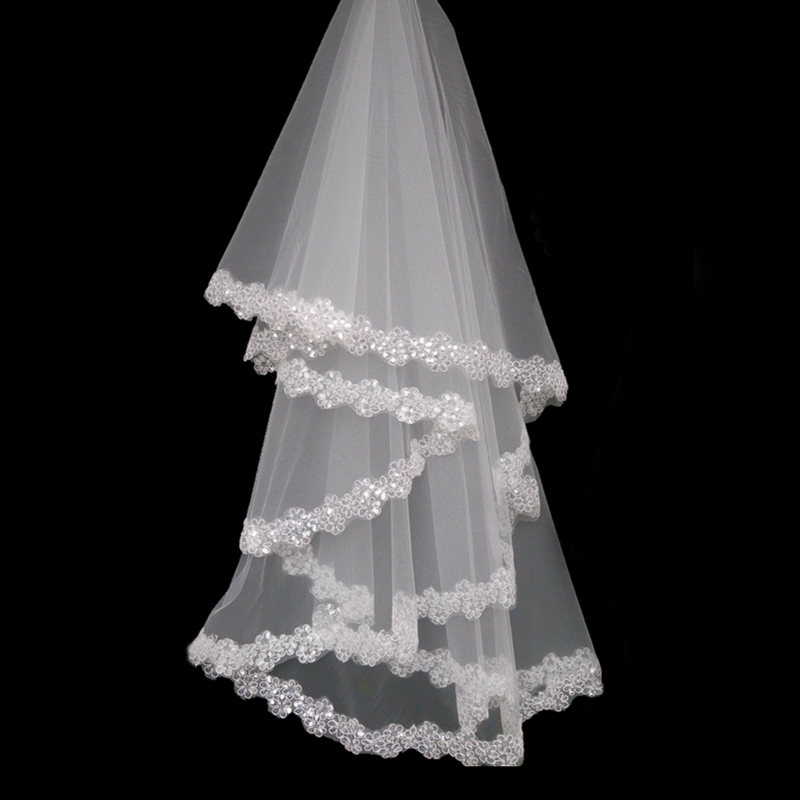 Online Buy Wholesale Lace Wedding Veil From China Lace Wedding Veil Wholesalers