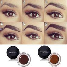 3D Natural Makeup Eyebrow Enhancers Gel Cream 8 Colors VERONNI EyeBrow Tint microblading tattoo Eye brow Cosmetic