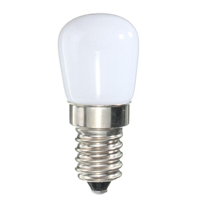Mini Energy Saving Refrigerator Light E14 220V LED Lamp 2W Spotlight Bulbs Freezer Warm White / White Light creative 1 2w 450lm tin style energy saving bar counter 8 led touch lamp w plastic casing white href page 2