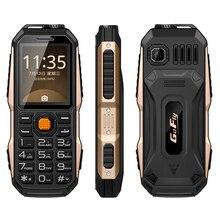 GOFLY 6800 большой Звук ударопрочный пыле fm-радио 3800 мАч фонарик mp3 power bank прочный мобильный телефон P011