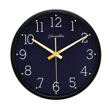 Newest 12 Inches The universe Design Metal Frame Modern Fashion Round Wall Clock LUMINOVA Decorative Wall clock