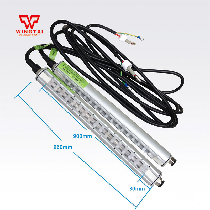 900mm*960mm Antistatic Ion Sticks With High Voltage Transformer Antistatic Ion Bars For Printing Industry цена
