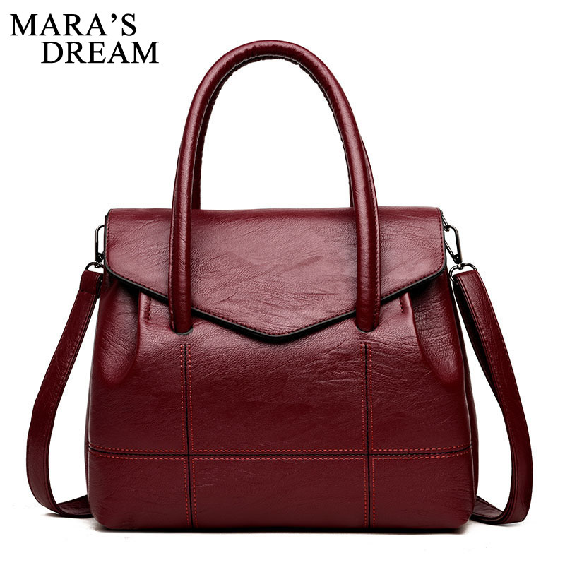 Mara's Dream PU Leather Handbags Big Women Bag High Quality Casual Female Bags Trunk Tote Shoulder Bag Brand Ladies Large Bolsos reprcla brand designer handbags women composite bag large capacity shoulder bags casual ladies tote high quality pu leather page 6