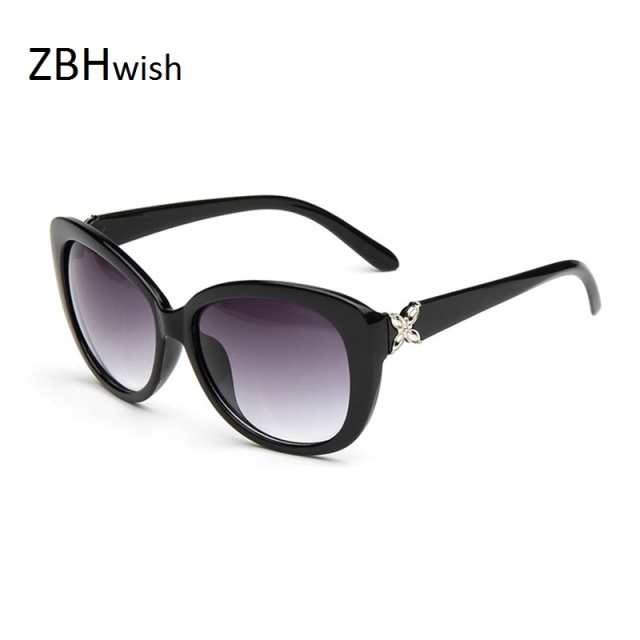 ZBHwish2017  Fashion Flowers Sunglasses Women  Brand Designer  Sun Glasses Retro  Lady Sunglasses Oculos De Sol   Feminino UV400