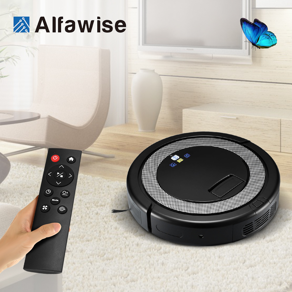 2018 Smart Robot Vacuum Cleaner For Home Remote Control Dust Cleaning Appliances 3 in 1 Cleaners Suction+Sweeper +Mop Aspirator