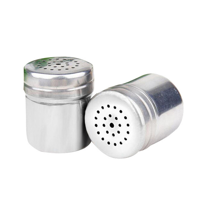 Stainless steel spice sugar salt pepper herb shaker jar toothpick storage bottle in spice - Toothpick shaker ...