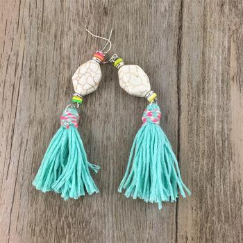 Stone Tassel Earrings Jewelry Earrings f02846ee759da375bf7e2a: color 1|color 2|color 3|color 4