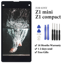 цена на TIMEWAY For Sony Z1 compact / Z1 mini / Z1c D5503 M51w LCD Touch Screen OEM display Touch Screen Touch Digitizer Replacement