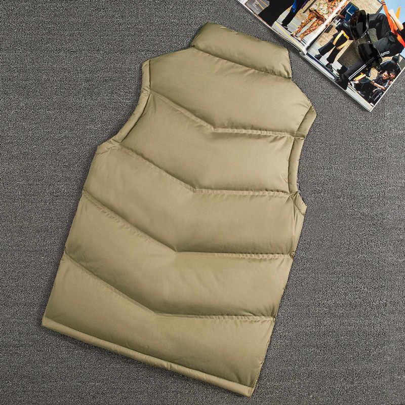 Мода Жилет Куртка Для мужчин без рукавов Новые Брендовые повседневные пальто мужской хлопка-ватник Для мужчин жилет Для мужчин утолщаются жилет мужской Запад Mannen 8
