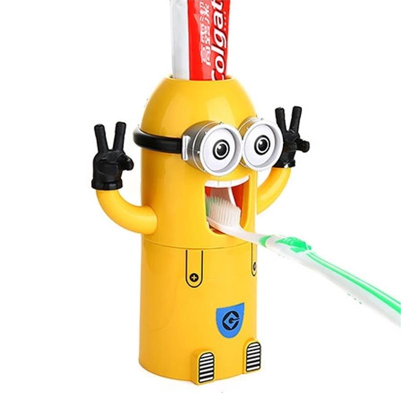 minion bathroom set. Aliexpress com Buy Free Shipping Minion toothpaste dispenser bathroom  accessories automatic Kids Plastic Bathroom jobs4education
