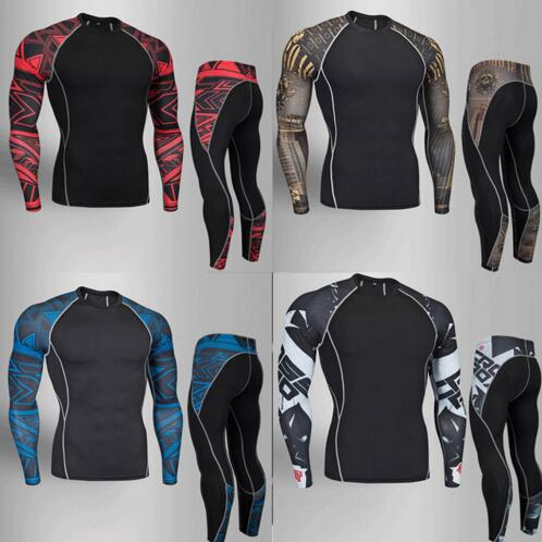2018 19 new mens thermal underwear male apparel sets autumn winter warm clothes riding suit