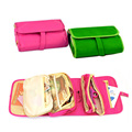 1pc Portable Folding Storage Bags Travel Beautician Cosmetic Bag Makeup Organizer Necessaire Clutch -- BIB64 PM30