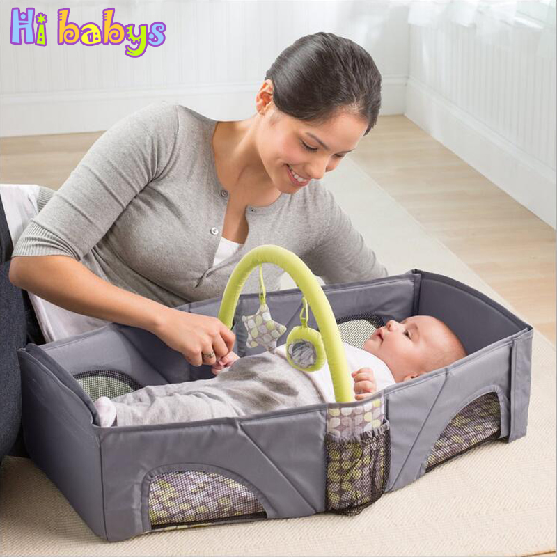 Multi Function Portable Baby Cribs Newborn Travel Sleep Bag Infant Bed Safe Bags