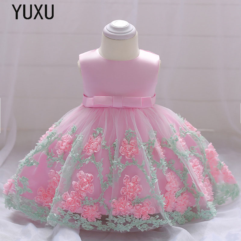 Hot Flower Girl Lace appliques Dress Kids Dresses for Girl Princess birthday Party Ball Gown Children Christmas Clothing Wear ultravox ultravox ha ha ha