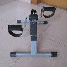 Портативный Педальный Тренажер для ног, тренажер для фитнеса, мини велосипедный спорт, оборудование для тренажерного зала, складная домашняя фитнес-беговая дорожка, шаговый D90304