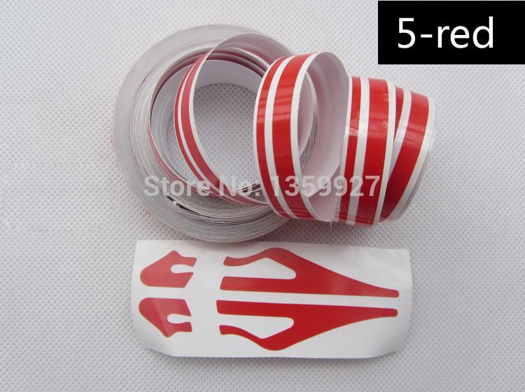 12 * 9800 mm Pin Zolaqlı Lines Şeritli Avtomobil Etiketleri Dekoral - Avtomobil ehtiyat hissələri - Fotoqrafiya 3