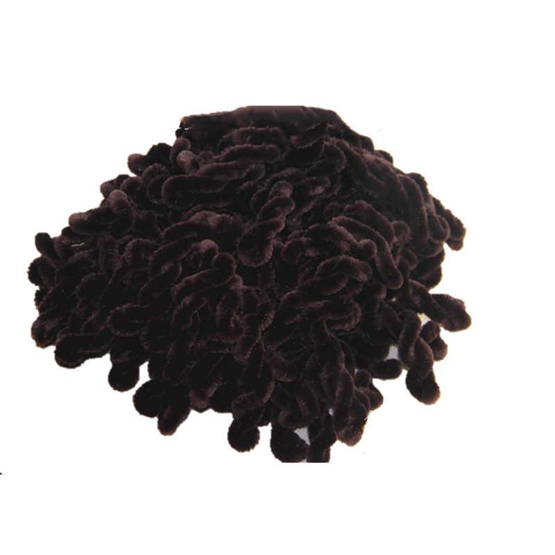 Модные женские мусульманские стрейч Твист Тюрбан, повязка на голову хиджаб бандана с резинкой для волос Головные уборы Аксессуары эластичная лента для волос HSJ88