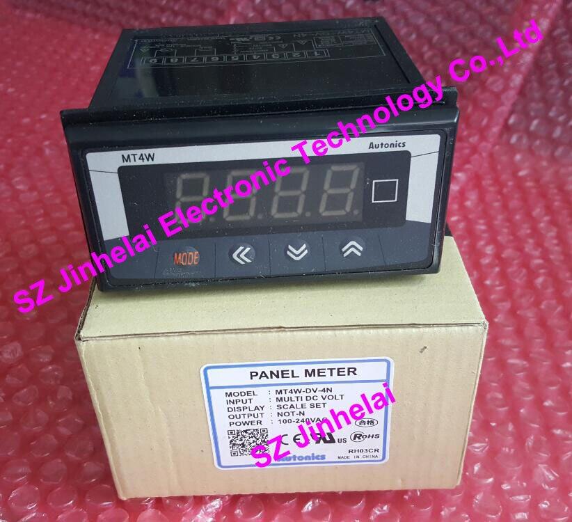 100% Authentic original MT4W-DV-4N Autonics PANEL METER sanyo 4n 600aac 4 8v 600mah original
