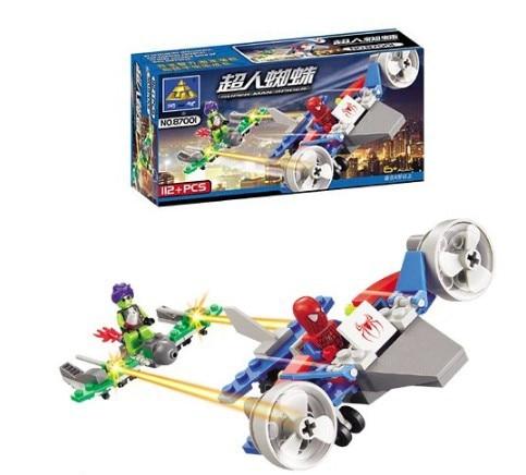 87001 Kazi Spider Man Series Building Block Sets 11Enlighten Educational DIY Construction Bricks toys !! - Child Life store