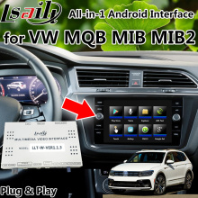 Android 9.0 Carplay & Navigatie Interface Voor Volkswagen Golf Passat Skoda Mqb Mib MIB2 Met Carplay, Mirrorlink, Youtube
