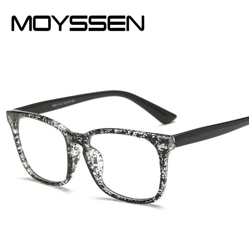 561a95d08b5e MOYSSEN Korean Men Vintage Brand Desinger Eyeglasses Women Big Frame  Decorative Myopia Optical Glasses Prescription Eyewear-in Eyewear Frames  from Men s ...