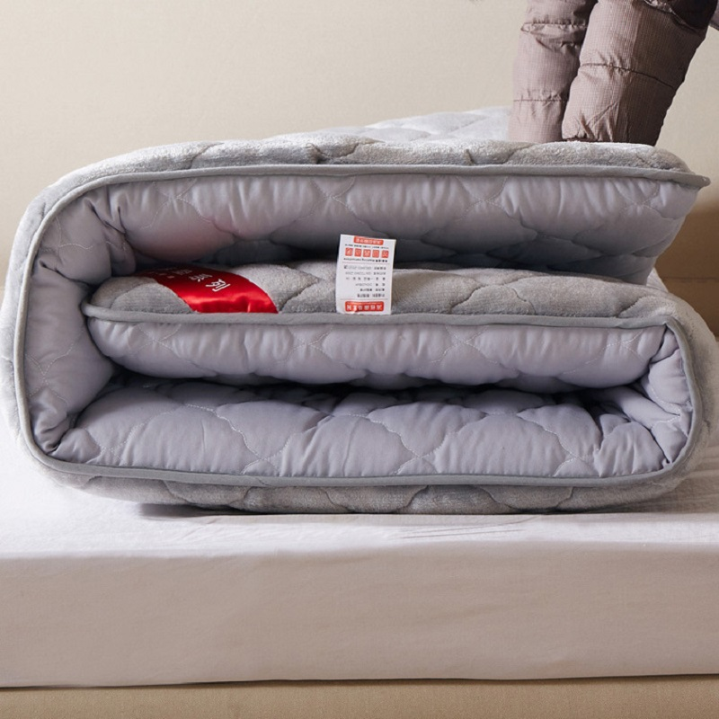 Hot!! Sale New Style Fashion Thick Mattress High Rebound Folding Mattress Single Or Double Students Hostel Mattresses Grade A