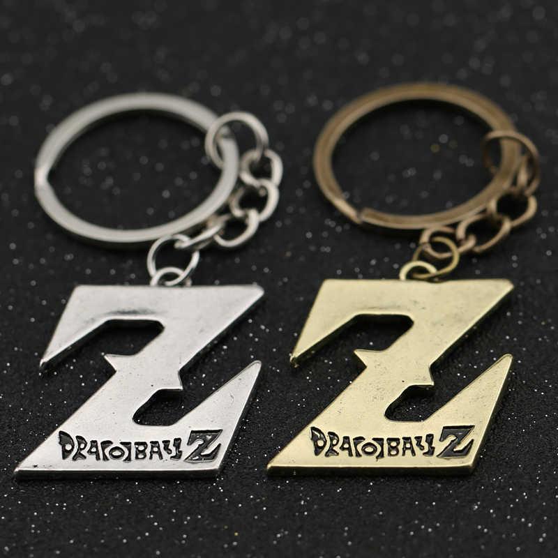 Dragão bola z chaveiro dragonball dbz son goku gohan piccolo símbolo logotipo chaveiro chaveiro chaveiro do vintage anime jóias atacado