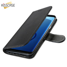 KISSCASE Soft TPU Leather Wallet Cases For iPhone  6 6s 7 8 Plus Cover Simple Luxury Phone Conque