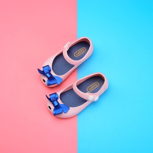 2018 Girls  Melissa Butterfly Sandals Crystal Jelly Shoes  Children Melissa Butterfly Sandals