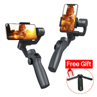 Updated Capture 02 3 Axis Handheld Gimbal Stabilizer Face tracking Motorized Steadycam for iPhone X Huawei P30 GoPro Osmo Action