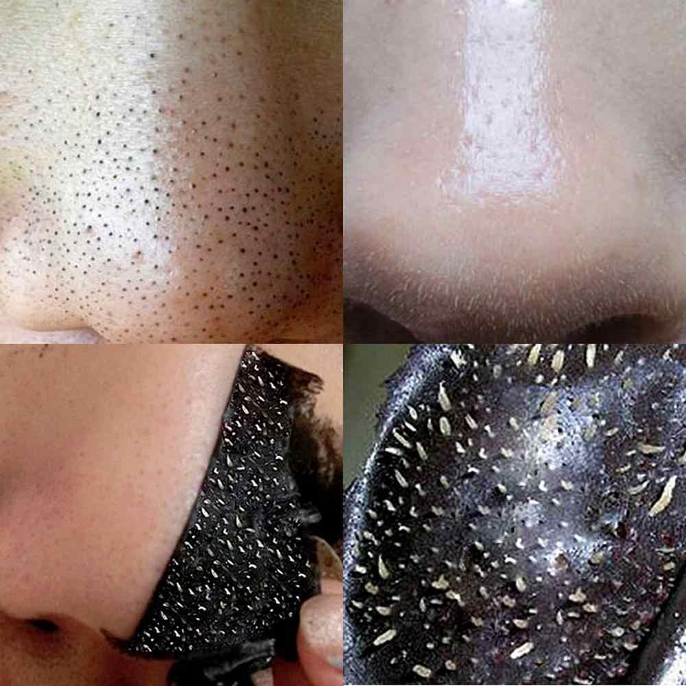にきび除去フェイスマスク鼻修理ディープケアはがしマスク浄化炭黒泥フェイシャル美容