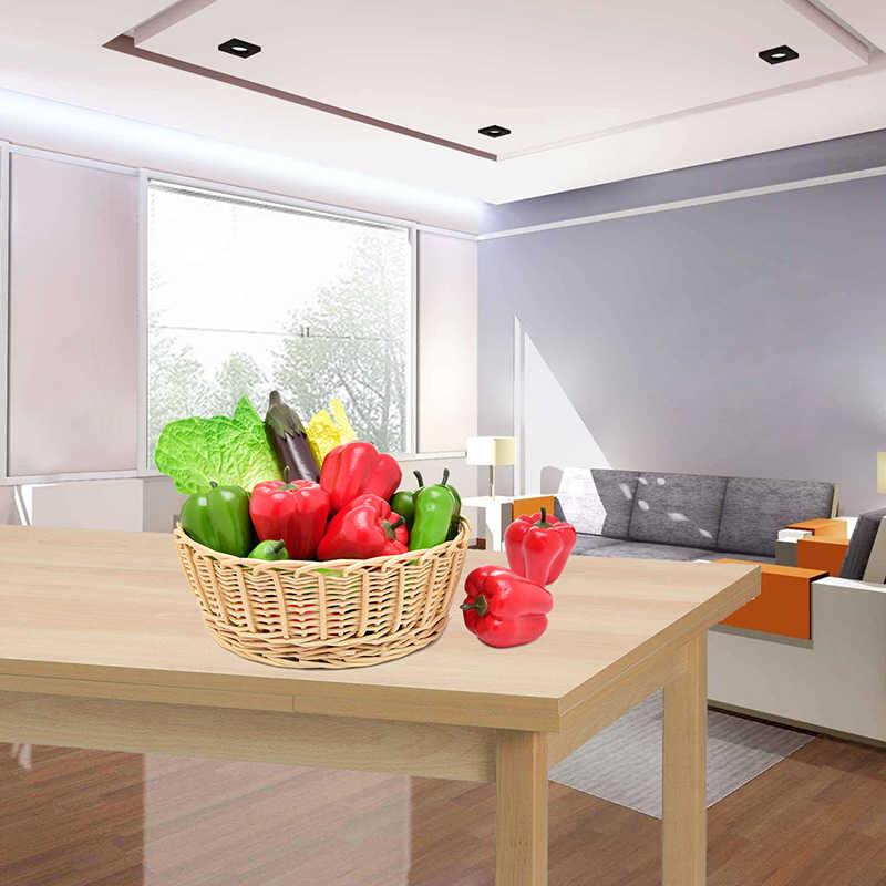 Дешевые Чили Мини Искусственные искусственные фрукты и овощи ягоды цветы для свадьбы дома и сада украшения