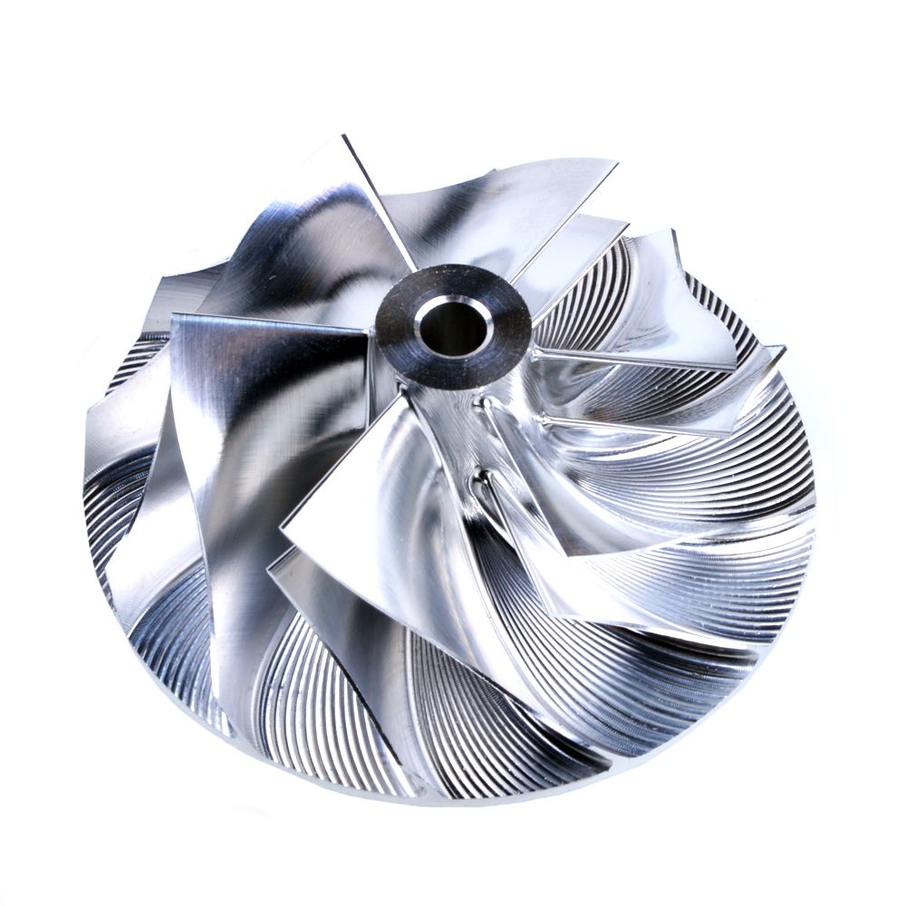 Kinugawa Turbo Billet Compressor Wheel 41.93/55.69mm 6+6 for Mitsubishi 4G63 Airtrek TD04HL-15T