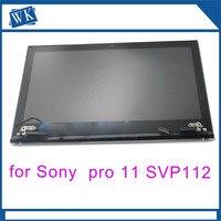 Класс с надписями «original» и «ЖК сборка верхней части для sony VAIO svp112 Pro11 P11218SCB в сборе с сенсорным экраном Бесплатная доставка