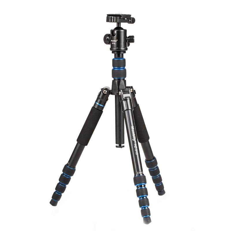 Manbily AZ310 Professional Portable Travel Camera Aluminum Tripod Monopod for Camera DV. Max Load 15kg